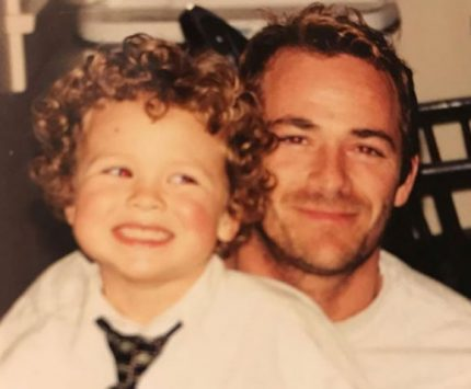 Luke Perry's son describes how life will never be the same without his father.