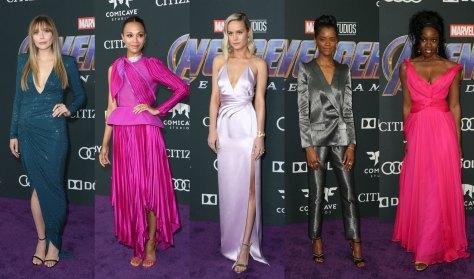 Avengers Endgame Red carpet los angeles