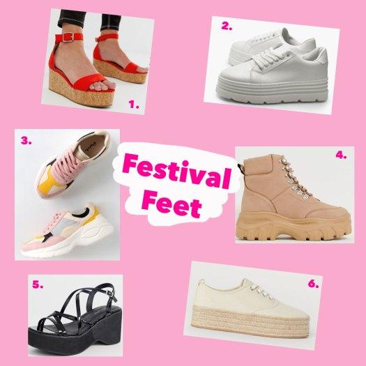 Coachella shoe looks for less