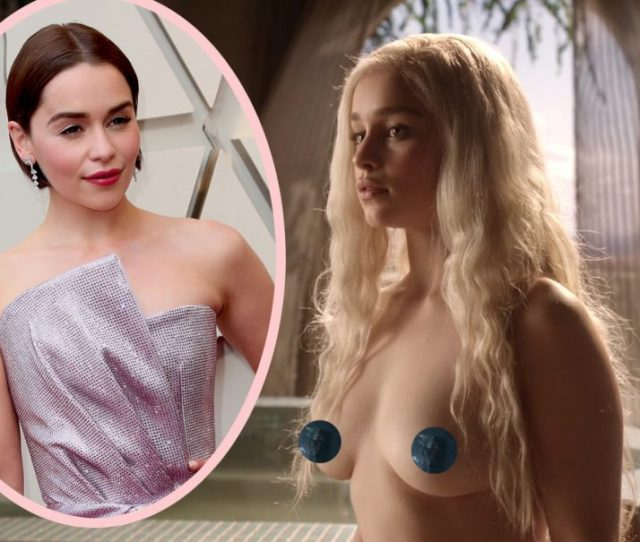 Stop Asking Emilia Clarke About Getting Naked