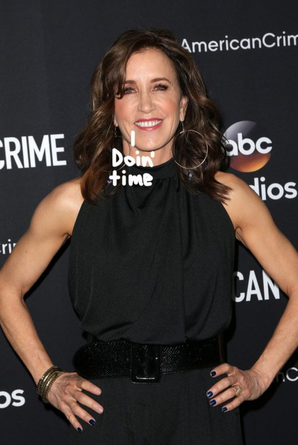 Felicity Huffman Expects