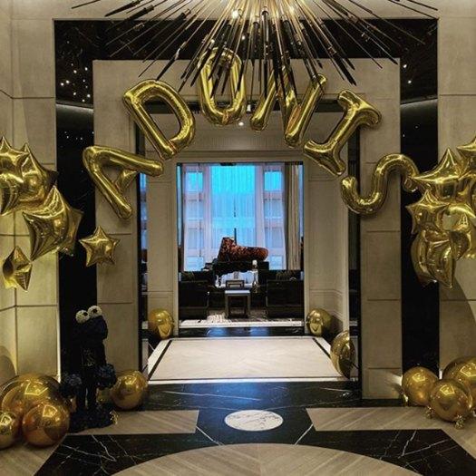 Drake celebrates son Adonis' birthday