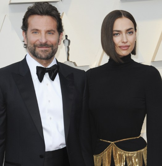 Bradley Cooper and Irina Shayk broke up