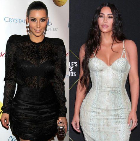Kim Kardashian West decade challenge