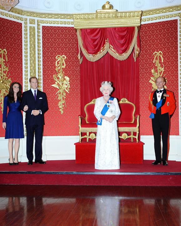 Madame Tussauds Royal Family