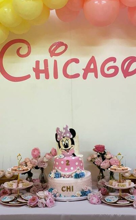 Chicago West birthday highlights Disney minnie mouse