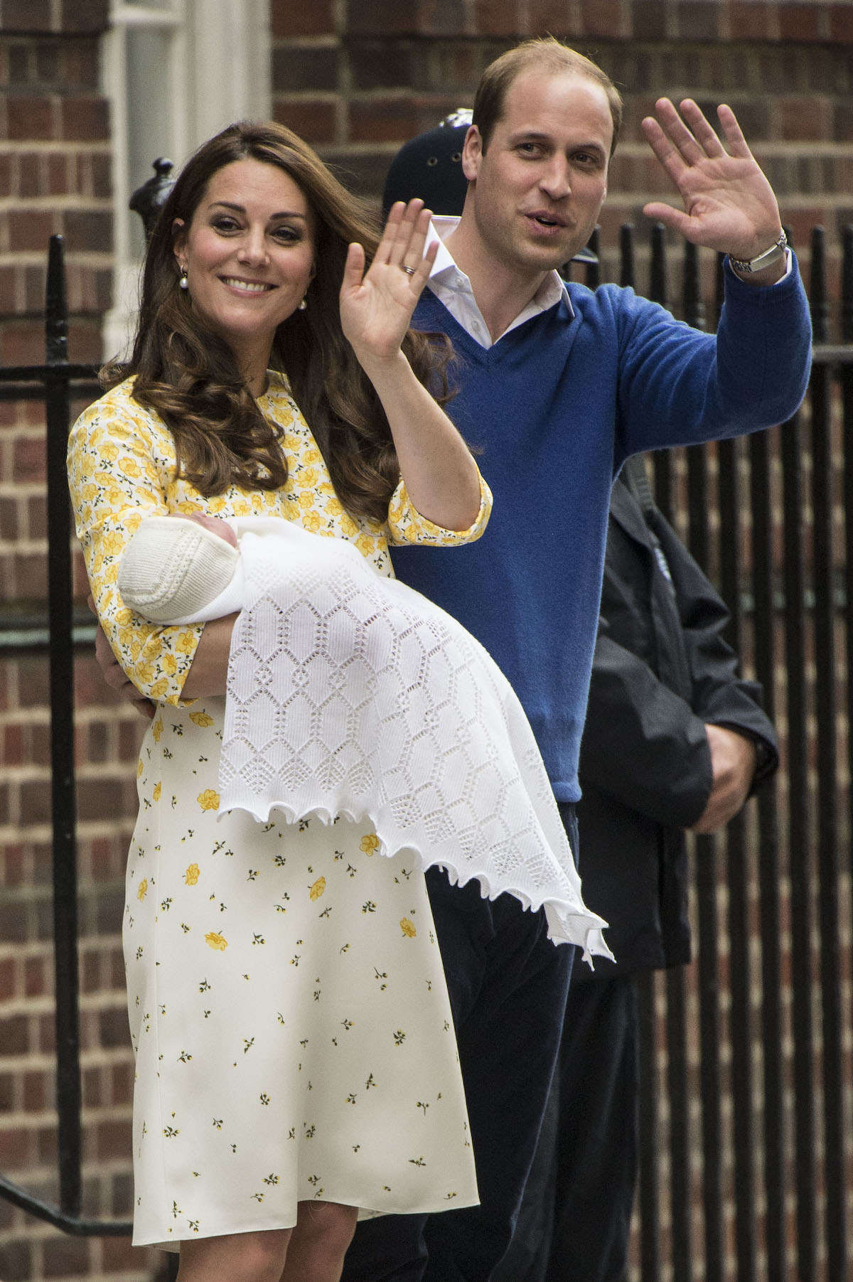 kate middleton prince william charlotte birth