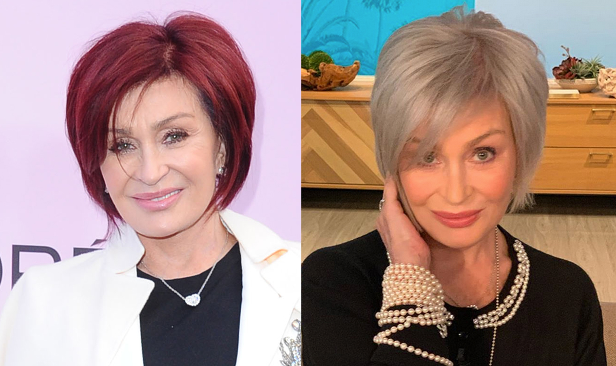 Sharon Osbourne Reveals Her Major Hairstyle Change Inspiration And Ozzy S Hilarious Reaction Perez Hilton