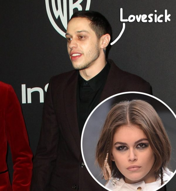 Pete Davidson Gets Candid About Kaia Gerber Split & MORE Of His Famous Exes: