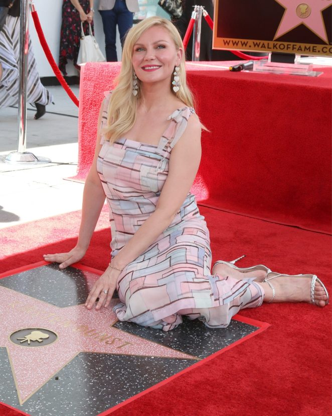 Kirsten Dunst Receives Her Hollywood Walk Of Fame Star