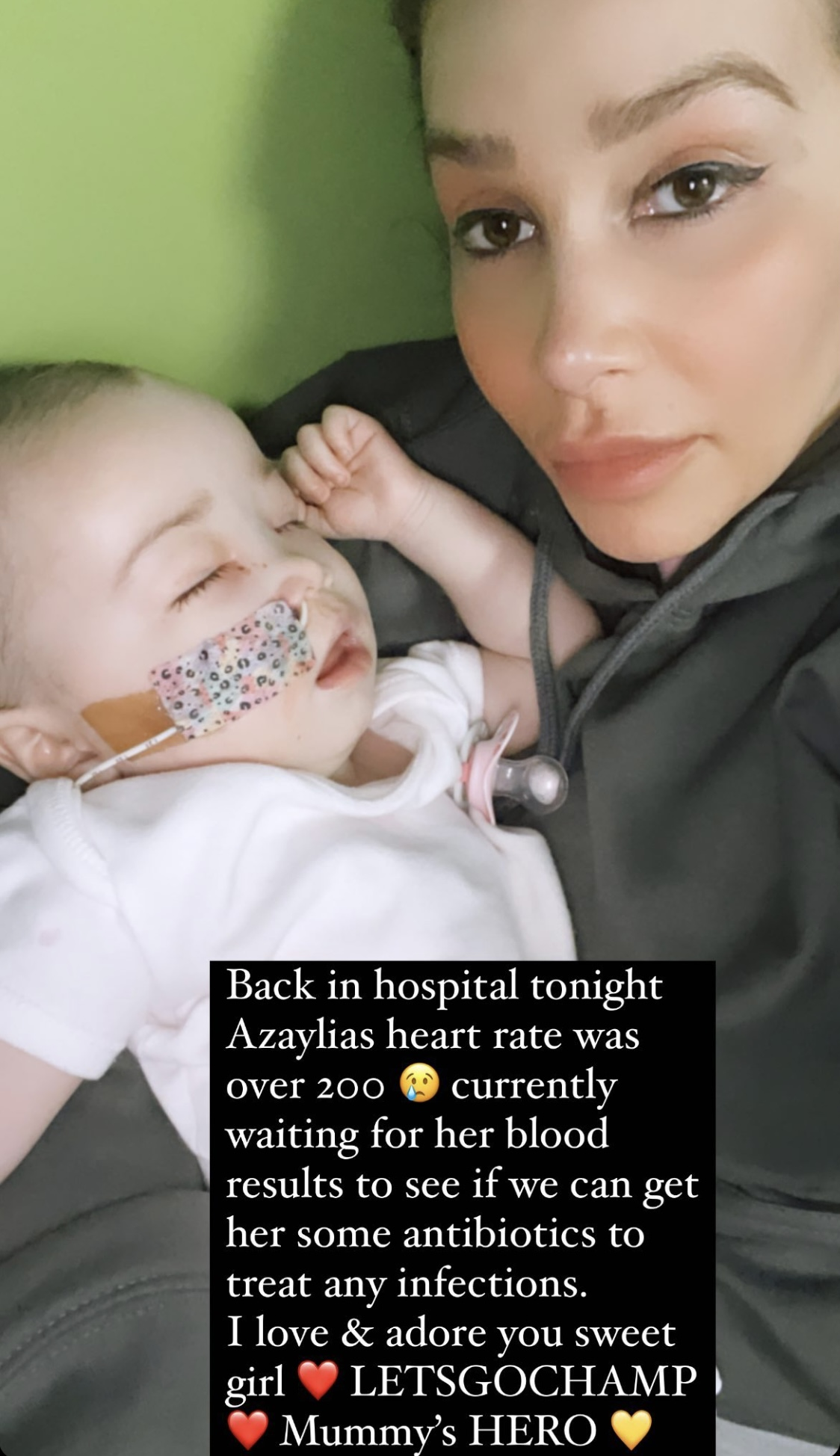 Ashley Cain's Daughter Rushed To Hospital Shortly After Returning Home With 'Days To Live'