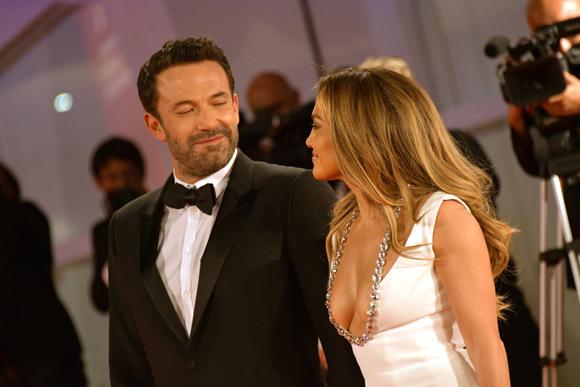 Ben Affleck Jennifer Lopez Venice 5