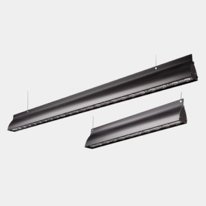 Terevo linear LED luminaire BLACK