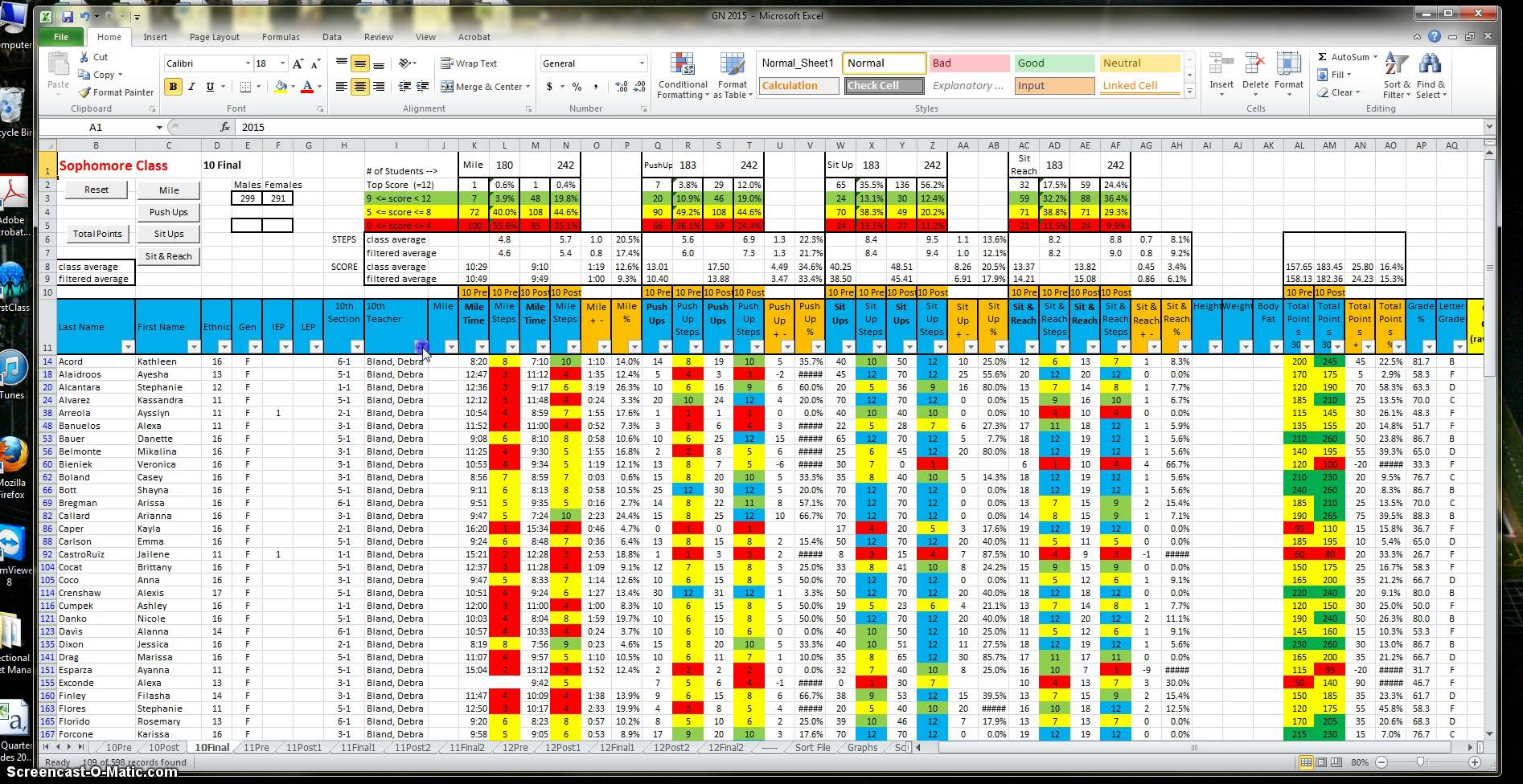 P90x3 Worksheets Spreadsheets