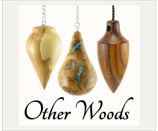Wooden Pendulums in Local and Exotic Woods from Oak to Olive!