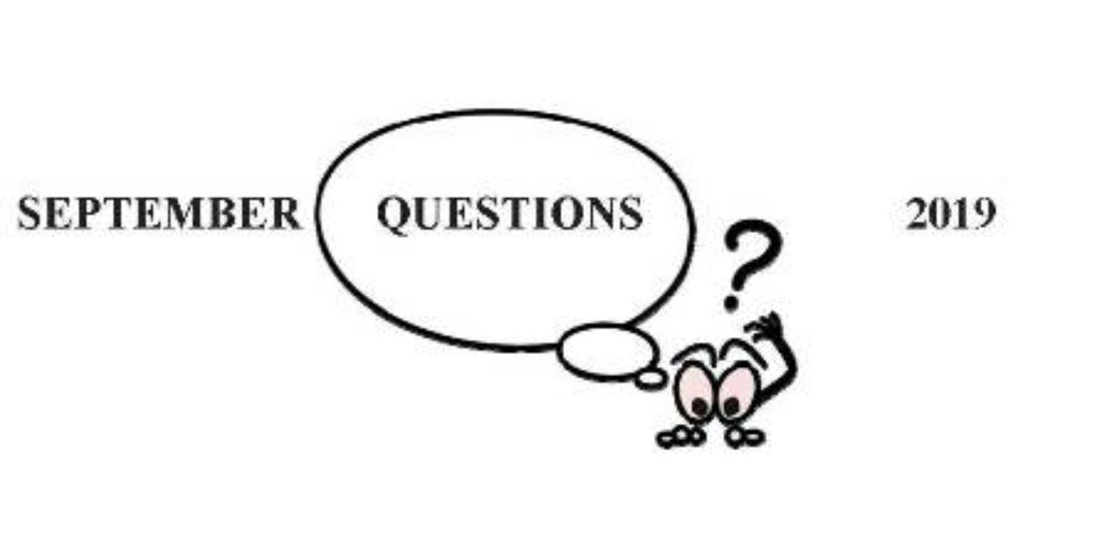 Jim S September Garden Questions