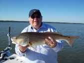 Dr. Charles with a nice Apalachicola Bay Redfish