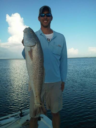 Curts St Joe Bay Redfish