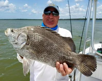 Indian Pass Triple Tail Fishing Charters Guide Cape San Blas
