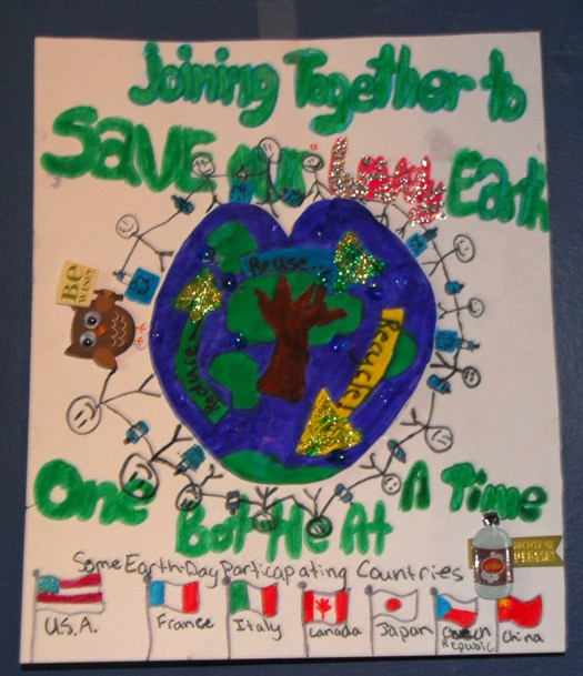Here Is The Winner Of Earth Day Poster Contest