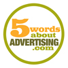 5 Words about Advertising