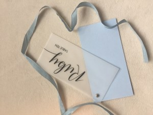 Vellum Place Card 1