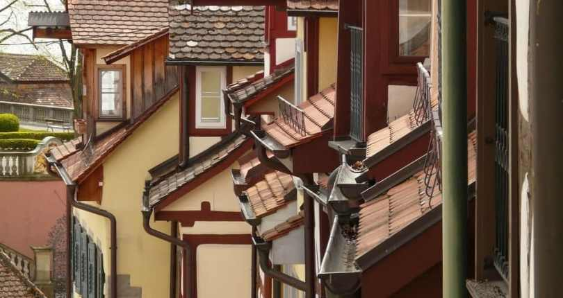 What tools do you need to prepare before cleaning your gutters, downspouts?