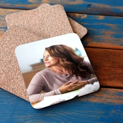 Cork backed Photo Coasters