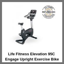 Elevation 95C Engage Upright Exercise Bike