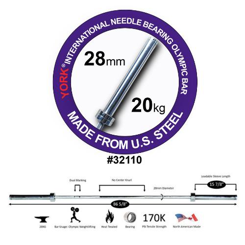 International Needle Bearing Olympic Bar