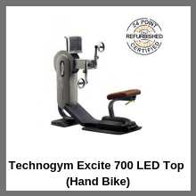 Technogym Excite 700 LED Top (Hand Bike)