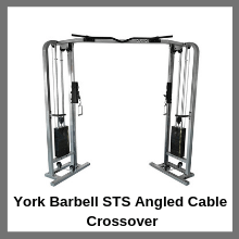 York Barbell STS Angled Cable Crossover