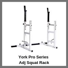 york Pro series squat rack