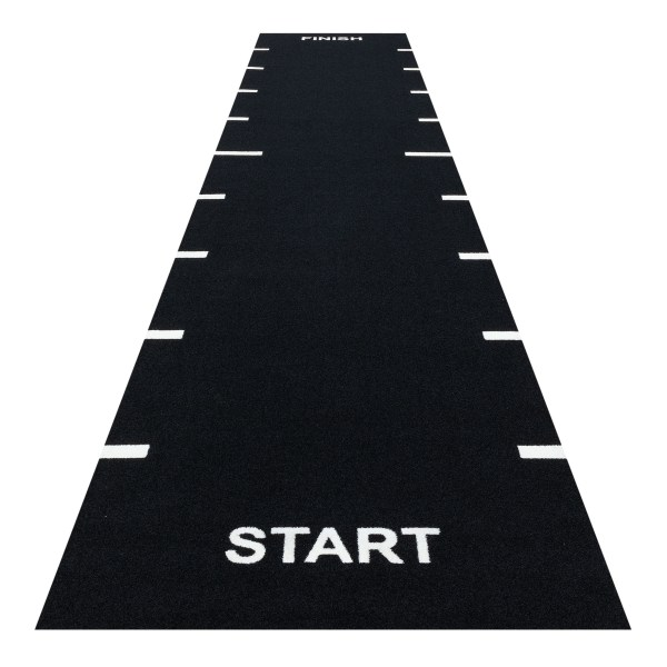 Heavy Sprint Track Black (Line Markings Start and Finish)