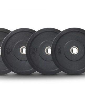 HI Olympic Bumper Plates 100kg Set