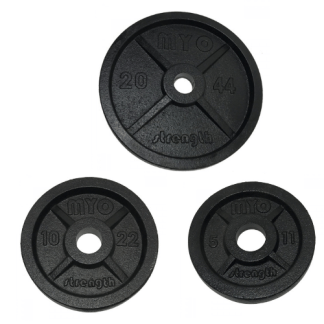 Myo Olympic Cast Iron Discs