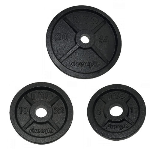 Myo Olympic Cast Iron Discs