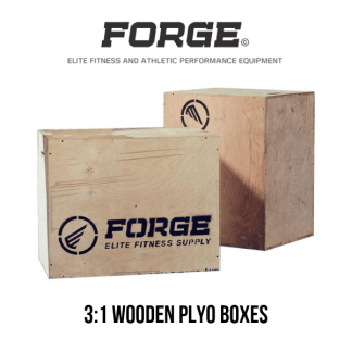 Forge Fitness 3:1 Wooden Plyo Box