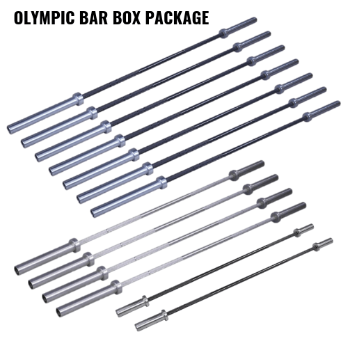 Crossmaxx Olympic Bar BOX Package