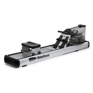 WaterRower M1 LoRise Rowing Machine with S4 Computer