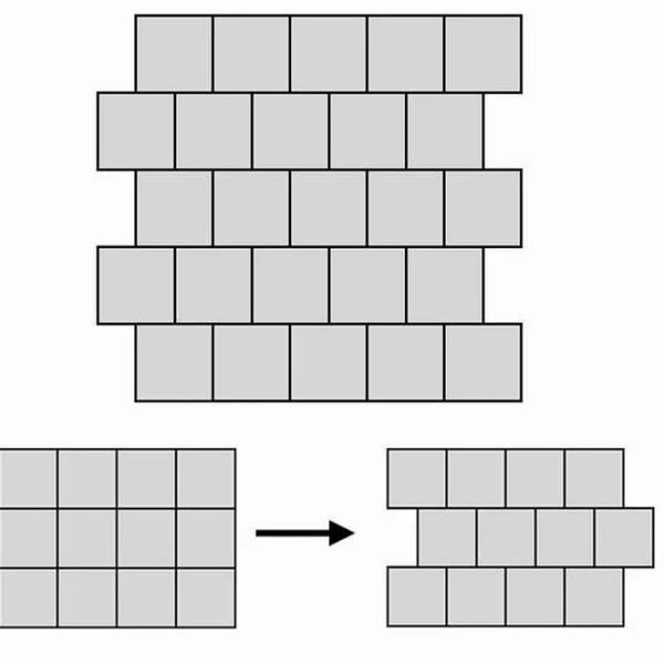Flooring layout