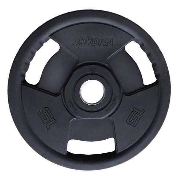 Jordan Fitness Classic Premium Rubber Olympic Discs