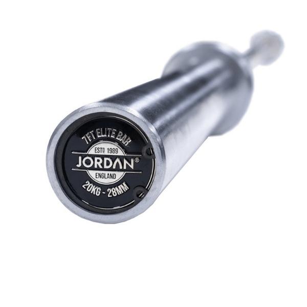 Jordan Fitness Elite Steel High Performance Olympic Bar