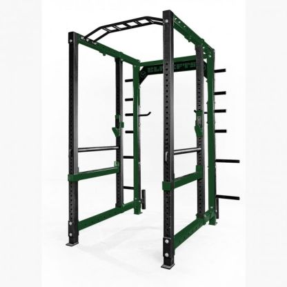 ELITEFTS™ 3x3 Collegiate Power Rack Dark Green