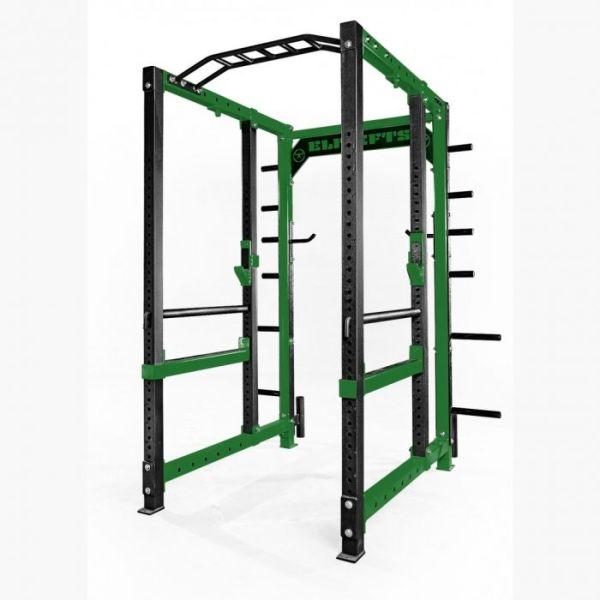 ELITEFTS™ 3x3 Collegiate Power Rack Evergreen