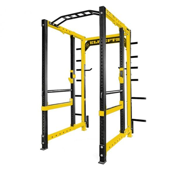 ELITEFTS™ 3x3 Collegiate Power Rack yellow
