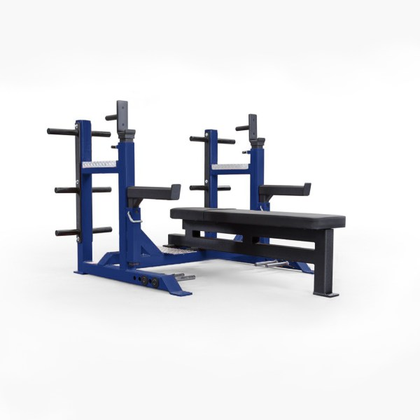 ELITEFTS™ Signature Competition Bench Navy Blue