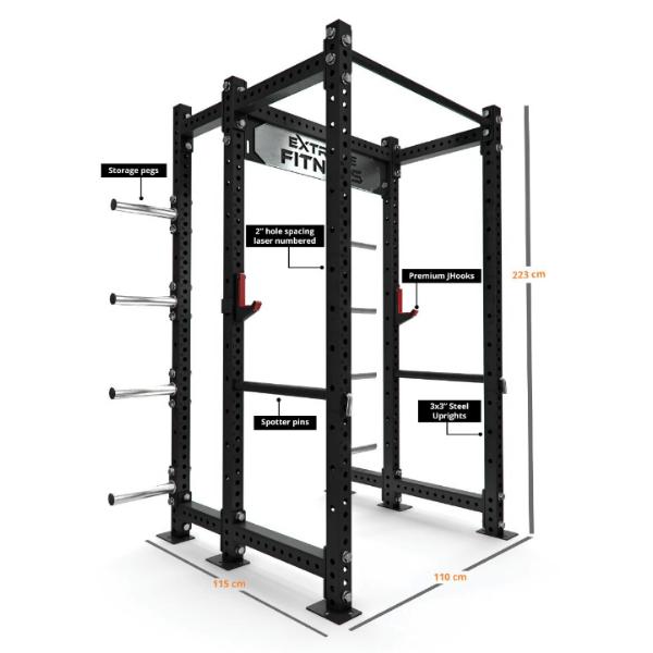 Extreme EX-PR-800 Power Rack1