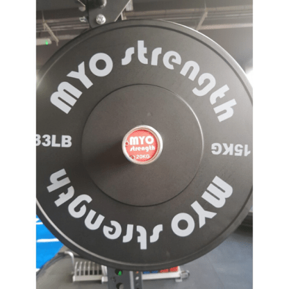 MYO Olympic Solid Rubber Bumper Plates