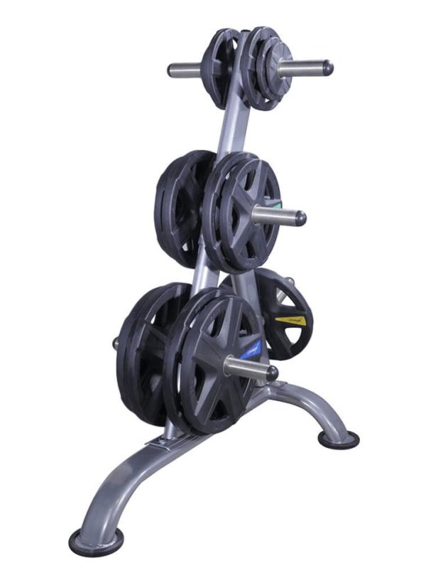 Lifemaxx LMX92 Olympic Disc - black - 5-Grip Model (1.25 - 25kg)1